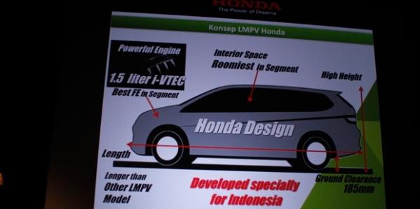 Honda-LMPV-Spesifikasi