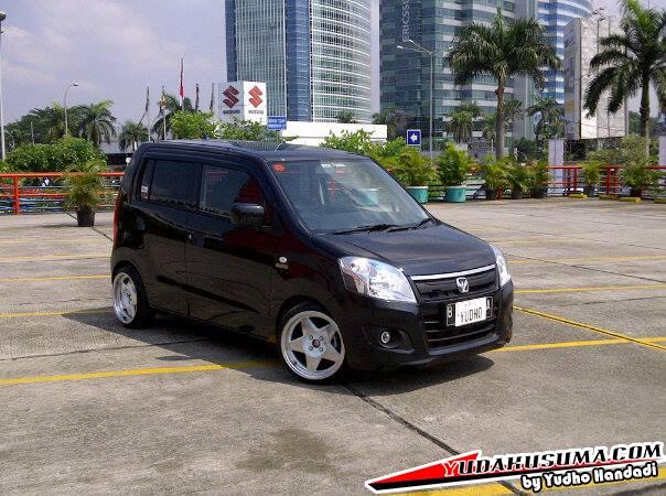 Modifikasi Suzuki Karimun Wagon R walau LCGC juga bisa
