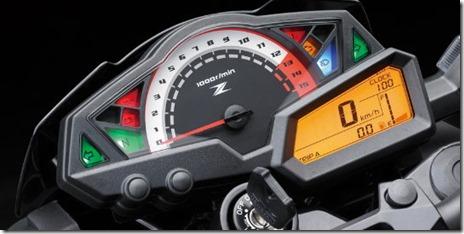 Kawasaki Z250 2013 - Panel Instrumen