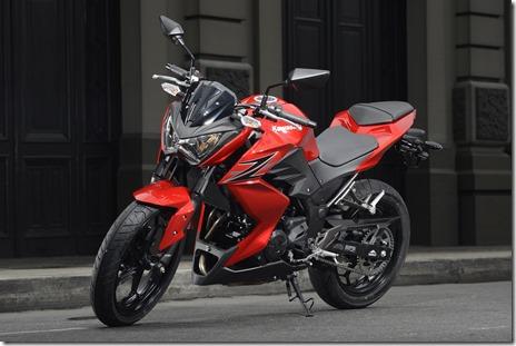 Kawasaki-Z250-Roja