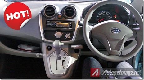 Datsun GO Panca versi matic automatic transmision