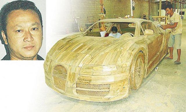 wow ada penampakan bugatti veyron super sport dan mercedes benz 300sl di boyolali jawa tengah. Black Bedroom Furniture Sets. Home Design Ideas