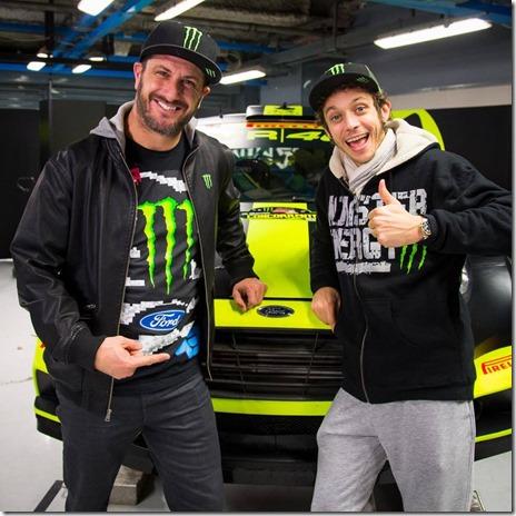 Ken Block Valentino Rossi Monza Rally Show 2014 01
