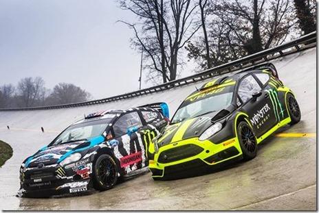Ken Block Valentino Rossi Monza Rally Show 2014 02