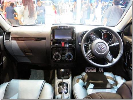 Interior Daihatsu Terios Spirit