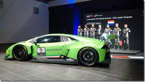 Lamborghini Huracan GT3 for 24 Hours of Spa 01