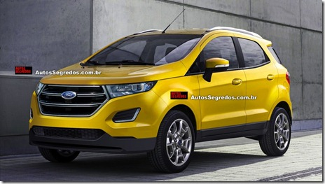 rendering ford ecosport facelift 01
