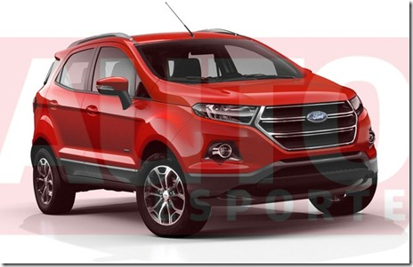 rendering ford ecosport facelift 02