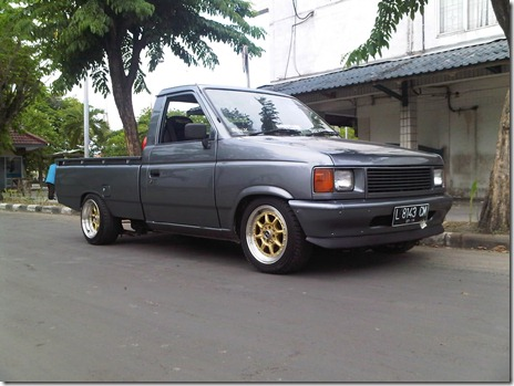 modifikasi isuzu panther pick up 01