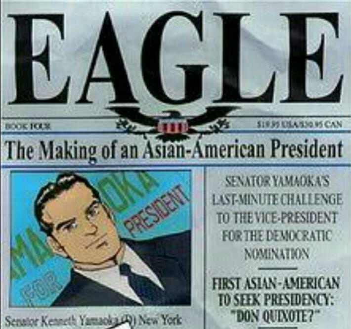 Review Komik : Eagle, Senator AS Keturunan Jepang